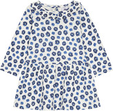 Petit Bateau Frill collar floral cotton dress 3-36 months