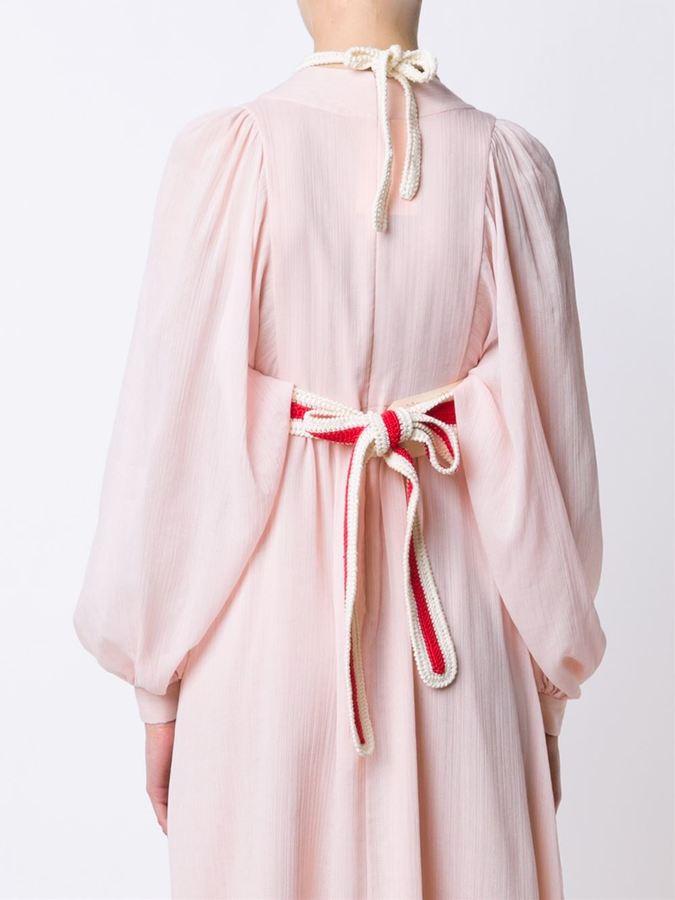 Vika Gazinskaya cropped knit top