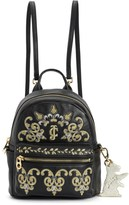 Juicy Couture Solstice Gold Embroidery Mini Backpack