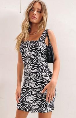 SNDYS Tina Animal Dress Zebra