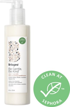 BRIOGEO Be Gentle, Be Kind Aloe + Oat Milk Ultra Soothing Fragrance-free Hypoallergenic Conditioner