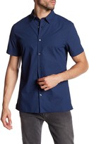 Vince Short Sleeve Plaid Shirt