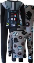 Disney Star Wars Little Boys' Darth Vader Set of 2 Cotton Pajama Set