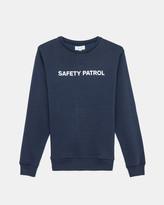 Soulland Lee Sweatshirt Print (Navy)