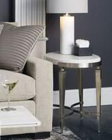 Bernhardt Damonica Oak Oval Side Table