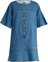 See by Chloe Button-front denim dress