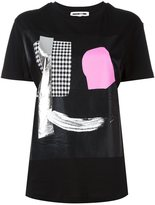 McQ by Alexander McQueen abstract face print T-shirt