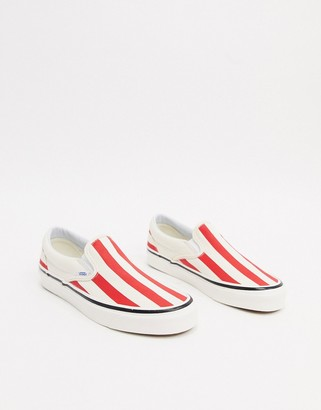 Vans Classic Slip-on striped trainers