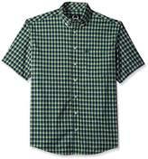 Cinch Men's Arenaflex Short Sleeve Button Plaid Shirt