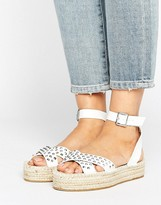 Asos JAMMIN Studded Sandal Espadrilles
