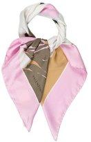 Valentino Silk Floral Scarf w/ Tags