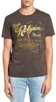 True Religion Graphic Crew Neck Tee