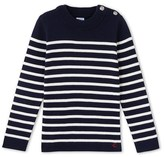 Petit Bateau Boys striped knit Breton sweater
