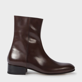 Paul Smith Men's Brown Calf Leather 'Bardo' Boots