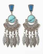 Charming charlie Stone Tribe Earrings