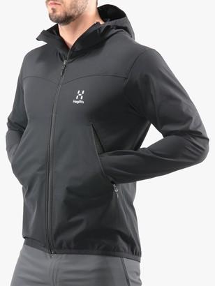 Haglöfs Natrix Men's Hooded Jacket, True Black