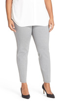 Halogen Side Zip Ponte Ankle Pants (Plus Size)