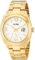 "A Line a_line Women's AL-80014-YG-22 ""Dashuri"" Gold Ion-Plated Watch"
