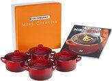 Le Creuset 8-oz. Mini Cocottes Enamel Stoneware Set