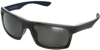 Zeal Optics Drifter (Grey Woodgrain w/ Polarized Dark Grey Lens) Sport Sunglasses