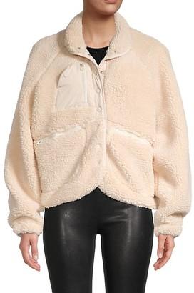 Lea & Viola Oversized Fleece Jacket