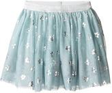 Stella McCartney Honey Tulle Skirt with Metallic Daisy Print Girl's Skirt