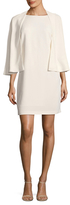 Tracy Reese Caped Shift Dress