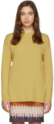 Loewe Yellow Wool Anagram Sweater