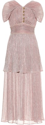 Peter Pilotto Metallic jersey dress