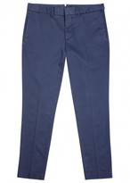J.lindeberg Grant Blue Slim-leg Cotton Chinos