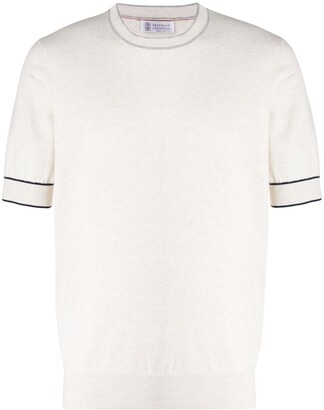 Brunello Cucinelli Short Sleeve Jumper