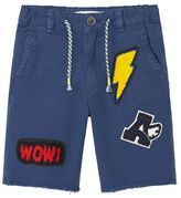 MANGO Boys Decorative Patch Bermuda Short