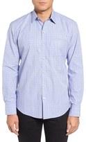 Zachary Prell Men's Poloworth Tattersall Sport Shirt