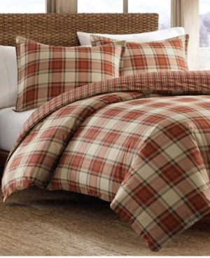 Eddie Bauer Edgewood Plaid Multi Comforter Set, Full/Queen