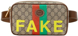 Gucci Fake/not Print Cosmetic Case