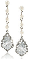 Carolee Icing on the Cake Faux-Pearl Linear Drop Earrings