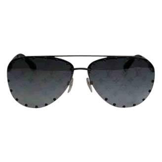 Louis Vuitton Black Metal Sunglasses
