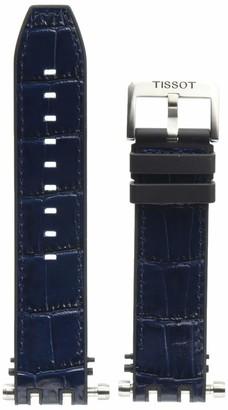 Tissot Leather Calfskin Blue Watch Strap 22mm Width (Model: T603044131)