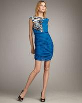Sequin-Detail Blouson Dress