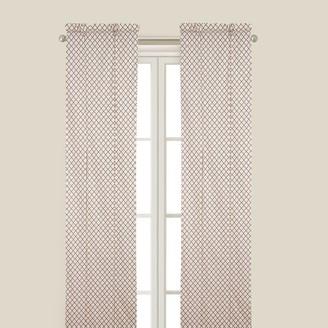 C&F Home Seraphina Brown Curtain Panel - 50 x 84