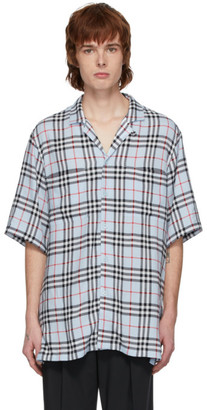 Burberry Blue Check Raymouth Shirt