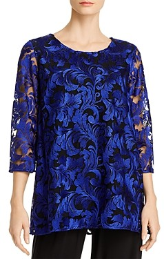 Caroline Rose Botanical Burnout Tunic