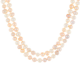 Splendid Pearls 7-9Mm Freshwater Pearl Endless Necklace