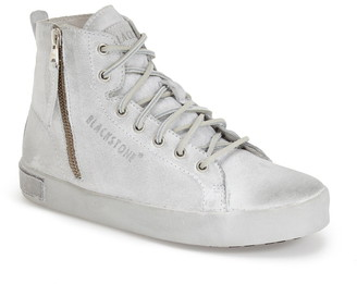 Blackstone 'KL62' High Top Sneaker with Genuine Shearling Lining