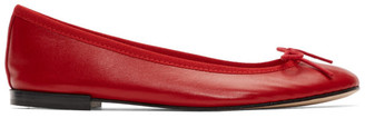 Repetto Red Cendrillon Ballerina Flats
