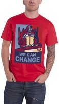 Transformers We Can Change Official Mens New T Shirt
