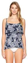 Penbrooke Women's Petaled Mastectomy Single Tier Tankini