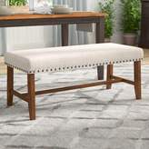 Laurèl Montagnes Upholstered Bench Foundry Modern Farmhouse
