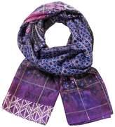Desigual DESIGAL WOMEN SCARF SCARF RECTANGLE BOHO 17WAWFC8 violet