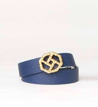 J.Mclaughlin Nora Reversible Skinny Leather Belt